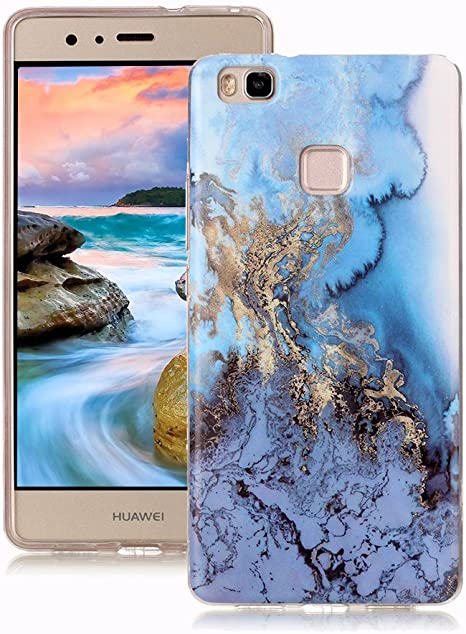 Yunbaoz Funda para Huawei P9 Lite Mármol, Diseño Mármol Carcasa Suave TPU Silicona Marble Case Suitable for Huawei P9 Lite: Amazon.es: Electrónica