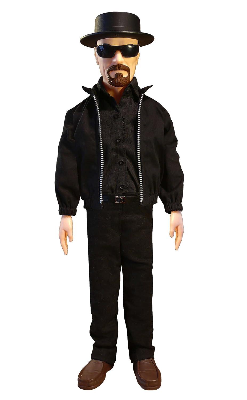 El país de Las Maravillas Toy Company BRBA101 - Hablando muñeca de Breaking Bad Heisenberg Exclusiva 43 cm
