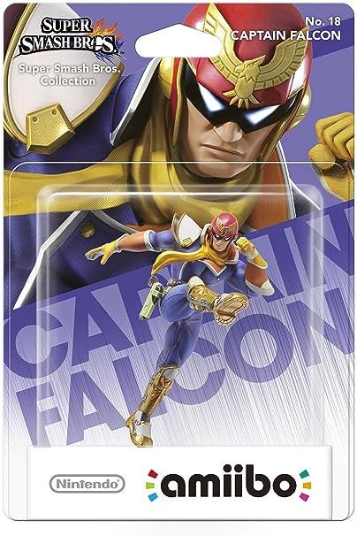 Nintendo - Figura Amiibo Smash Capitán Falcón: Amazon.es: Videojuegos