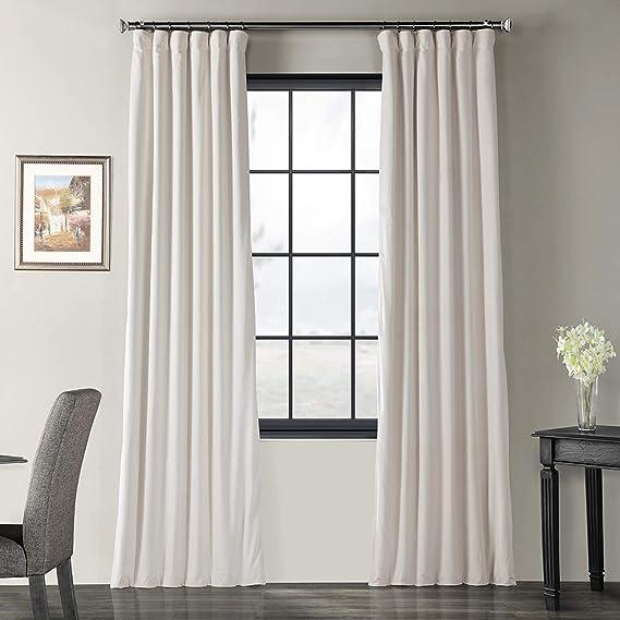 HPD Half Price Drapes VPCH-120601-108 Signature Blackout Velvet Curtain (1 Panel)