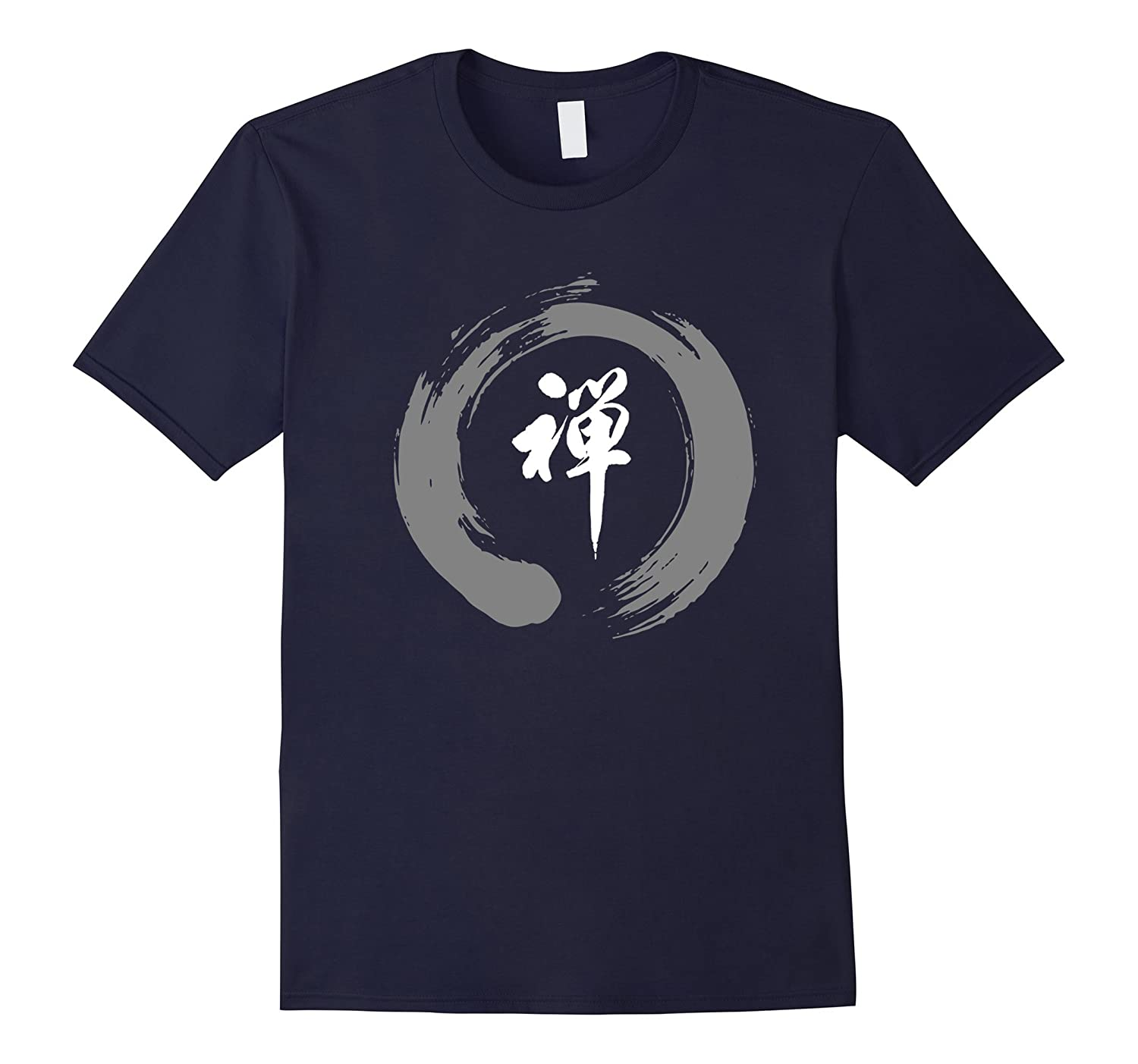 Zen Circle Ohm Namaste Peace Meditation Chant Tshirt-TH