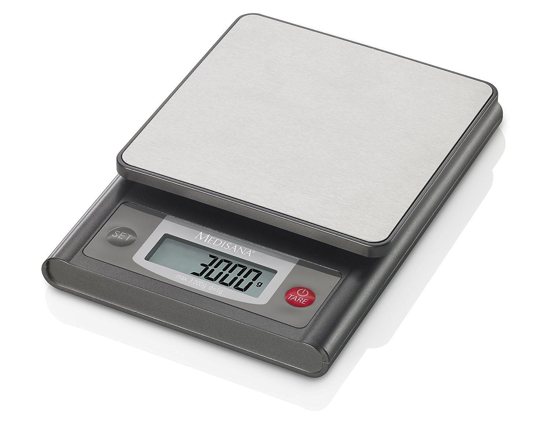 Medisana KS 200 - Báscula de cocina digital, máximo 3 kg