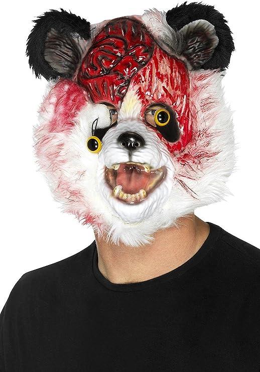Close Up Máscara de Disfraz - Panda Zombie: Amazon.es: Hogar