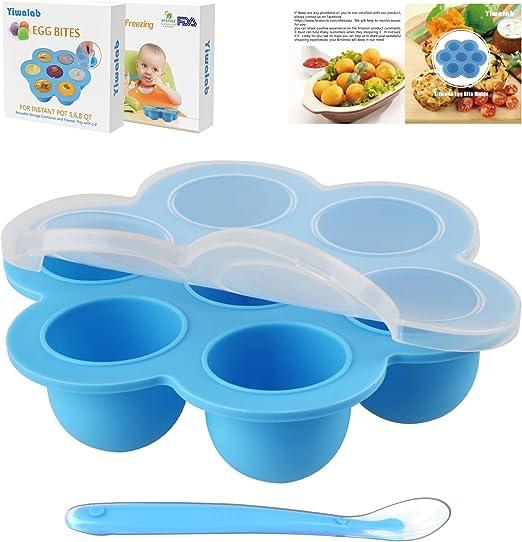 Moldes en silicona para huevos, accesorio apto para ollas exprés ...