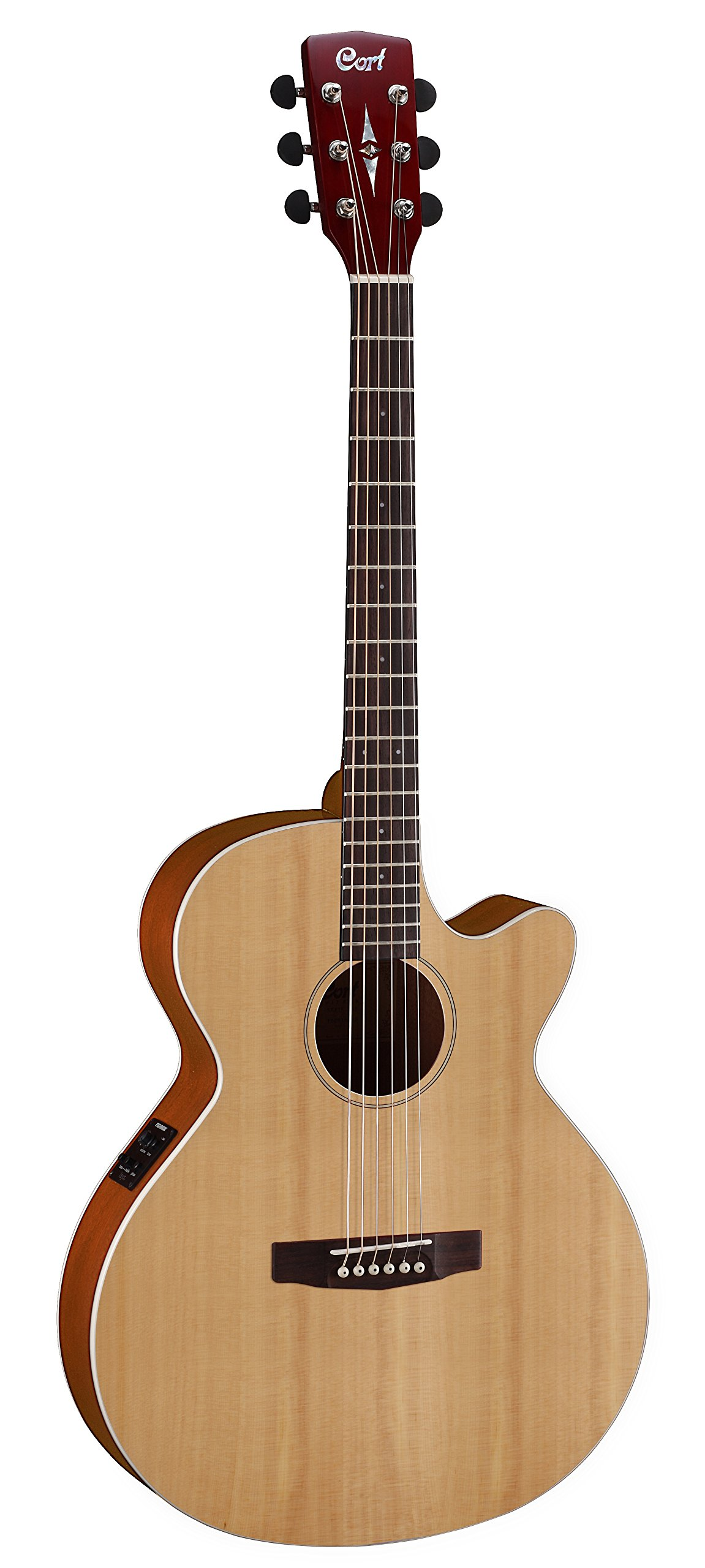 Cort 6 String Acoustic-Electric Guitar, Right Handed (SFX1F NS) by Cort