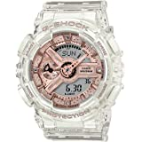 CASIO G-SHOCK G-SHOCK for WOMEN Pink-Gold Metallic Finish Transparent GMA-S110SR-7ADR