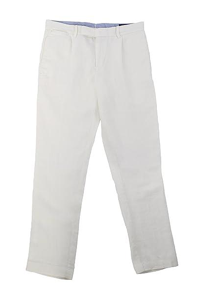 Ralph Lauren - Gorra de béisbol - para Hombre Blanco Blanco 32W x 32L: Amazon.es: Ropa y accesorios