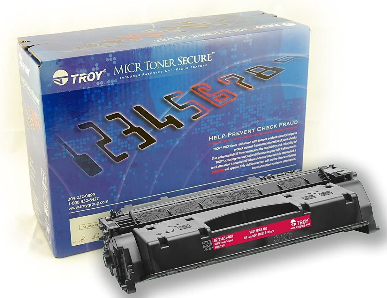 TROY 02-82029-001 High Yield MICR Toner Cartridge for M203, M227 Printers,Black