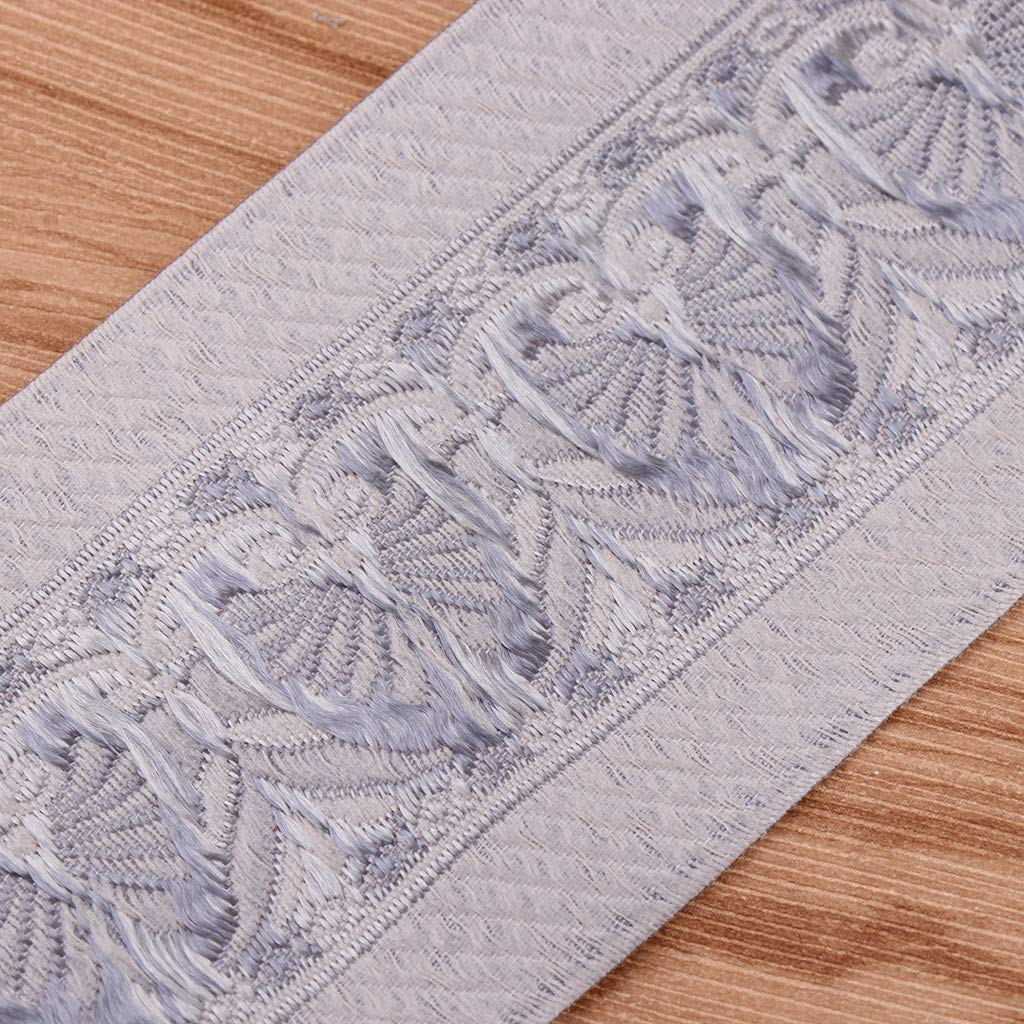 chiwanji 5 m 6 cm 197inch Splicing Jacquard Trim Crafting Sewing Trim Decorative Laces Bordo Tessuto Nastri e Decorazioni Passamaneria Webing