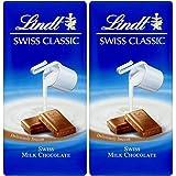 Lindt Swiss Classic Milk Chocolate, 2 X 100 g
