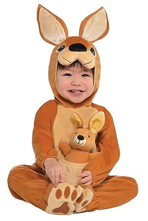 Baby Girls Boys Kangaroo Australian Fancy Dress Costume Outfit 6-12 12-24 months