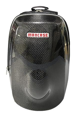 465126f0d5 GOGOCARBON Sac à Dos Extensible Carbon Coque Rigide pour Casque de Moto