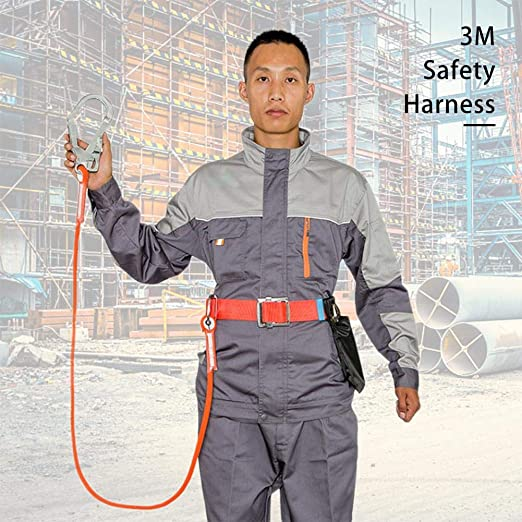 Arnés de Seguridad de Cuerpo Completo Protección contra caídas ...