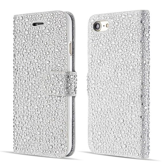 iphone 6 glitter flip case