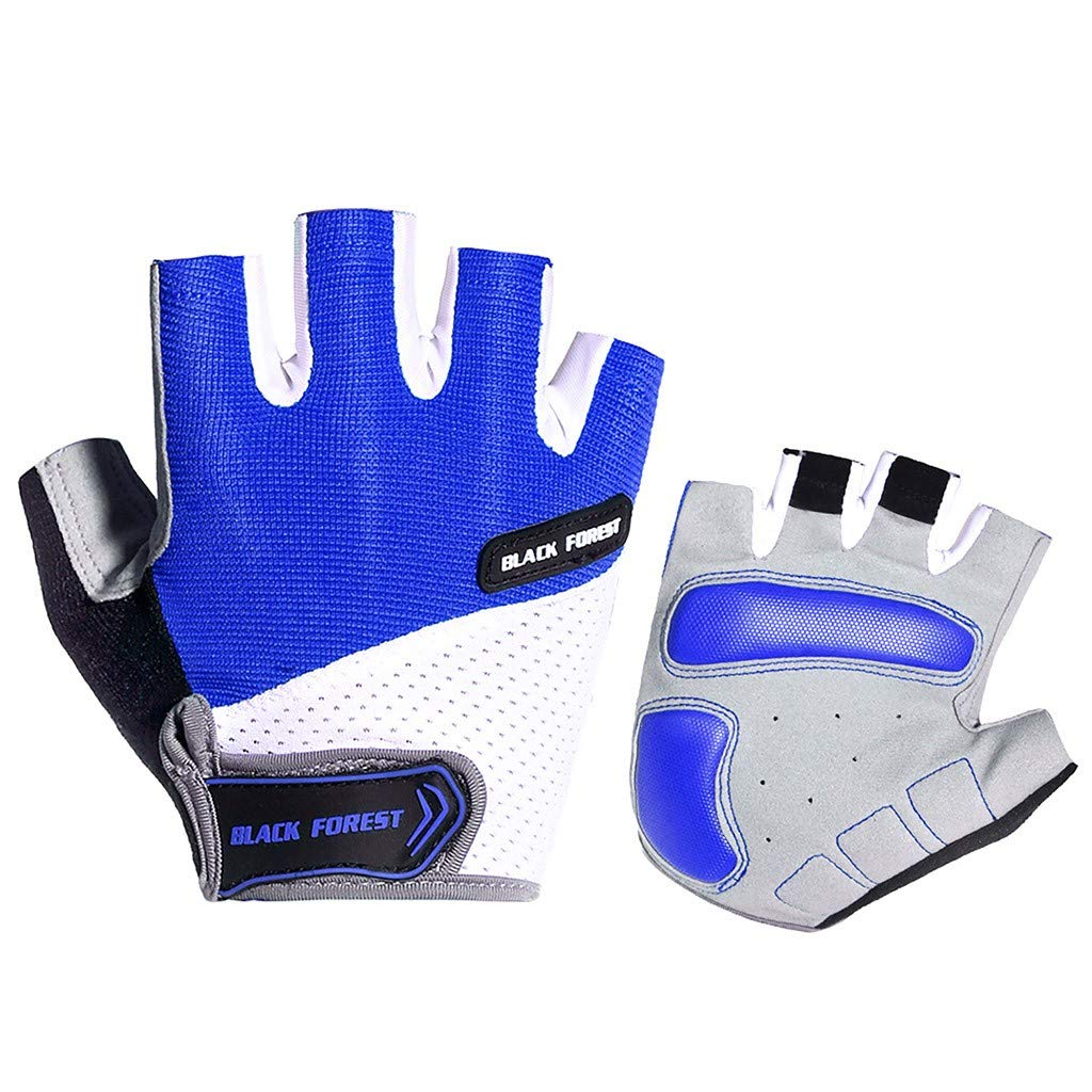 Lover and Yourself Jinjin Summer Outdoor Unisex Sports Non-Slip Fitness Half Finger Cycling Riding Gloves Clothing /& Accessories Gift for Your Sweetheart