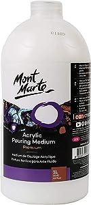 Mont Marte Premium Acrylic Pouring Medium 33.8oz (1L)