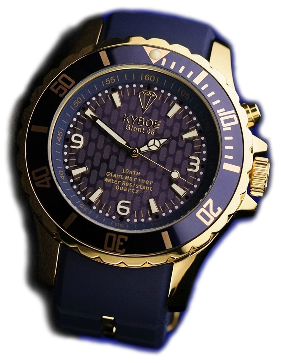 KYBOE! Gold horloge Series KYG-002-48 (48mm)