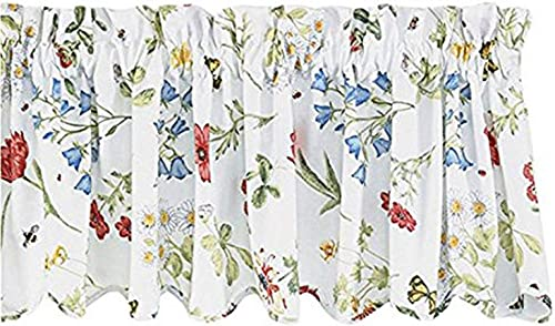 Park Designs Wildflower Window Treatment Tier, 72 x 24