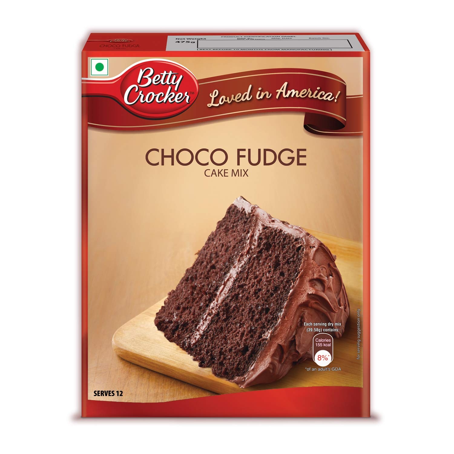 Betty Crocker Choco Fudge Cake Mix Instant Cake Mix Powder 3 Step Cake Mix Whisk Pour Bake Moist Chocolate Fudge Cake 475g Amazon In Grocery Gourmet Foods