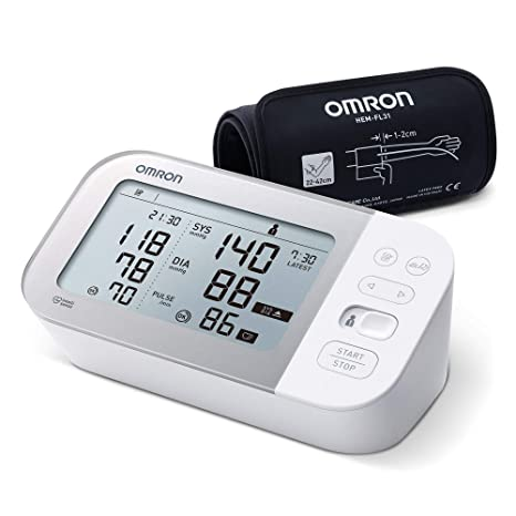 OMRON Healthcare X7 Smart Monitor de Tensión Arterial, Con ...