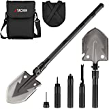 TAC9ER Tactical Multitool 15-in-1 Shovel - Portable, Compact, Military Steel Shovel with Carrying Pouch for Camping…