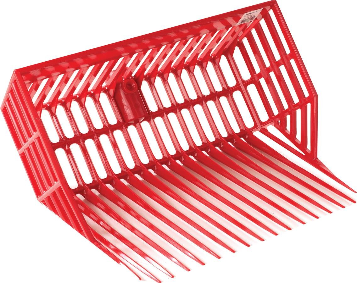 LITTLE GIANT MILLER 957644 Durapitch II Replacement Fork Head, Red, 13'' x 16''