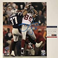 $99 » Autographed/Signed David Tyree The Catch Super Bowl XLII New York Giants 11x14 Football Photo PSA/DNA COA