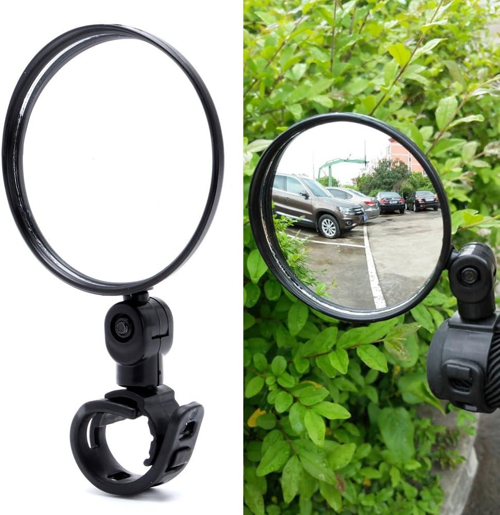 360° Flexible Rear View Mirror Safe Cycling Bike Bicycle Handlebar Rearview 1pc