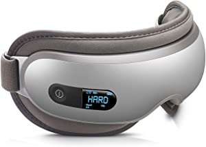 Breo iSee16 Eye Temple Massager Compress Mask with Air Pressure, Vibration, Heating for Dry Eye Relax Eyesight Care Eyestrain Stress Relief