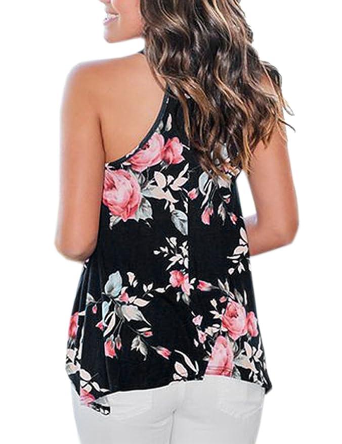 Amazon.com: sexyshine verano de las mujeres sin mangas ...
