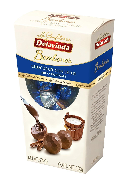 Delaviuda - Bombones Chocolate con Leche, 150 g: Amazon.es ...