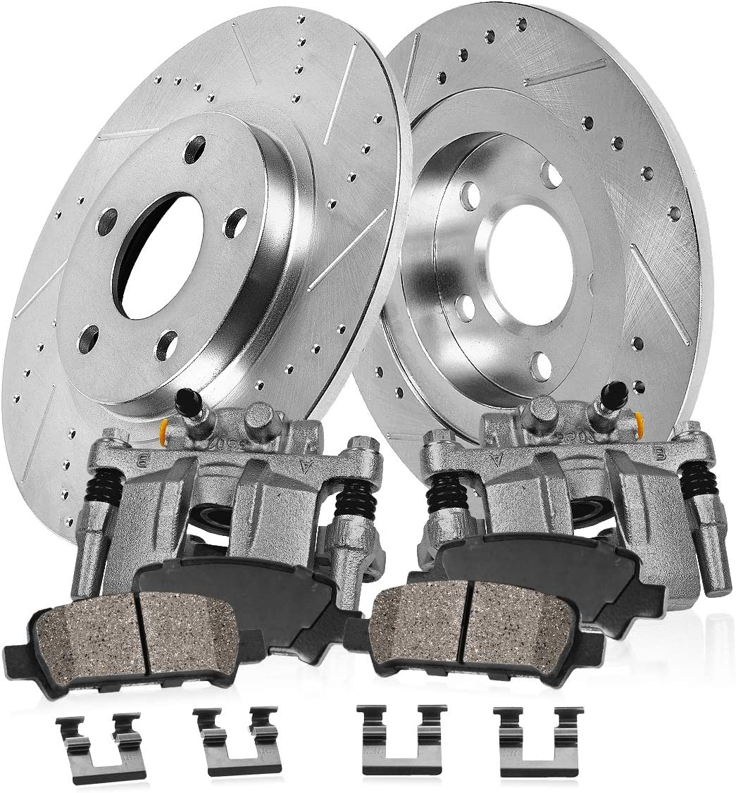 Prime Choice Auto Parts BC30410PR Rear Pair of Brake Calipers