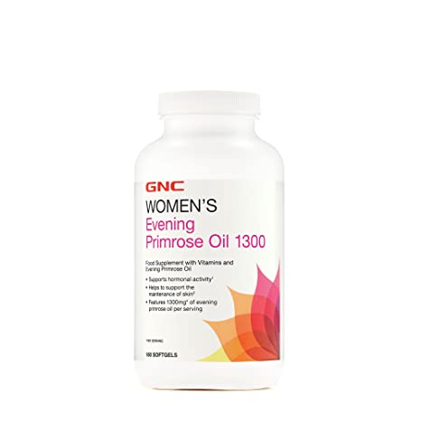 Gnc Aceite de onagra para mujer 1300