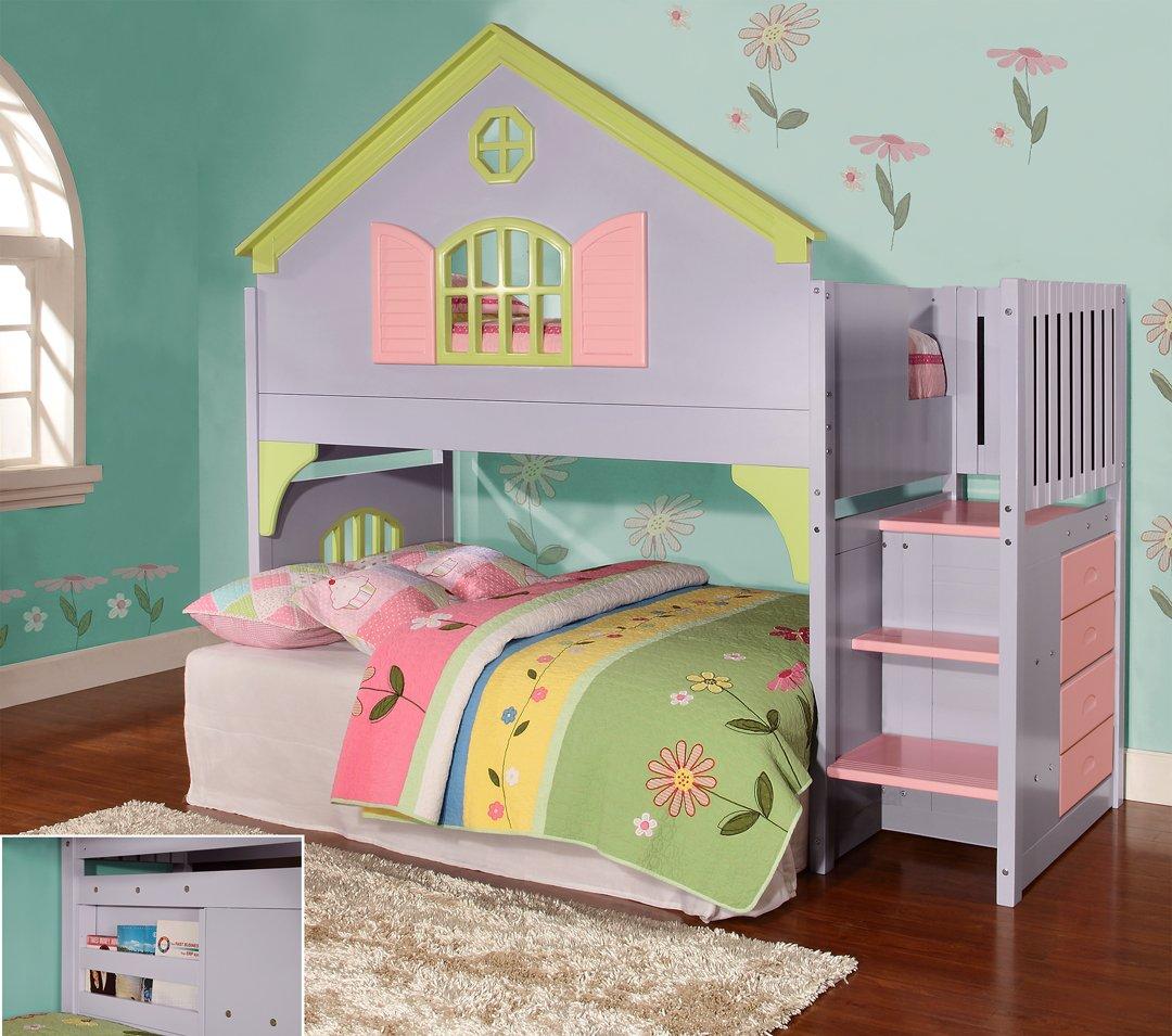 Girls Bunk Bed Amazon Com