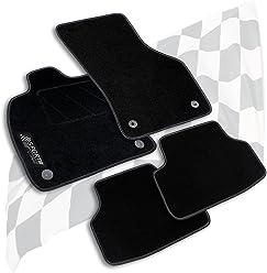 NF Velours schw-graphit Fußmatten paßt für RENAULT GRAND SCENIC Typ JZ  Bj.09
