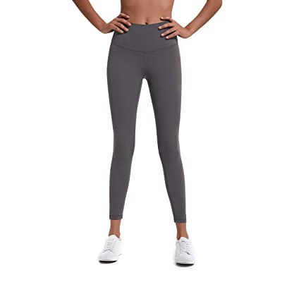 Athaura Petite High Waisted Leggings, Full Length 4 Way Stretch Yoga Pants with Hidden Card Pocket: Clothing