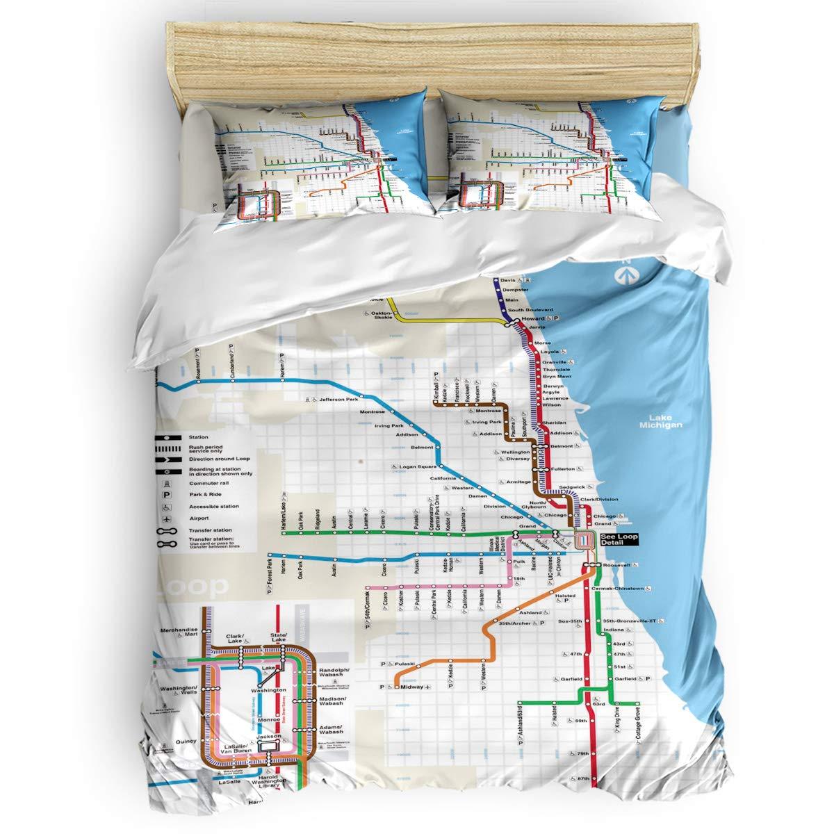 掛け布団カバー 4点セット 夢幻蓮 寝具カバーセット ベッド用 べッドシーツ 枕カバー 洋式 和式兼用 布団カバー 肌に優しい 羽毛布団セット 100%ポリエステル クイーン B07TC3L5ZJ Map2LAS9427 クイーン