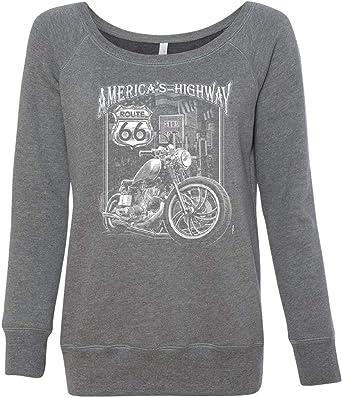 Original Biker Skull Youth T-Shirt Ride or Die Route 66 Motorcycle MC Kids Tee
