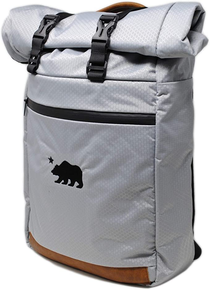 Cali Crusher 100% Smell Proof Roll Top Backpack