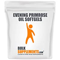 Evening Primrose Oil Softgels (1000 mg) by BulkSupplements | Women's Health & Skincare...