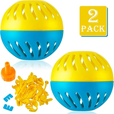 Gejoy 2 Sets Splash Water Out Balloon Water Balloon Wet Balloon Water Game Supplies for Outdoor Indoor Activities: Toys & Games