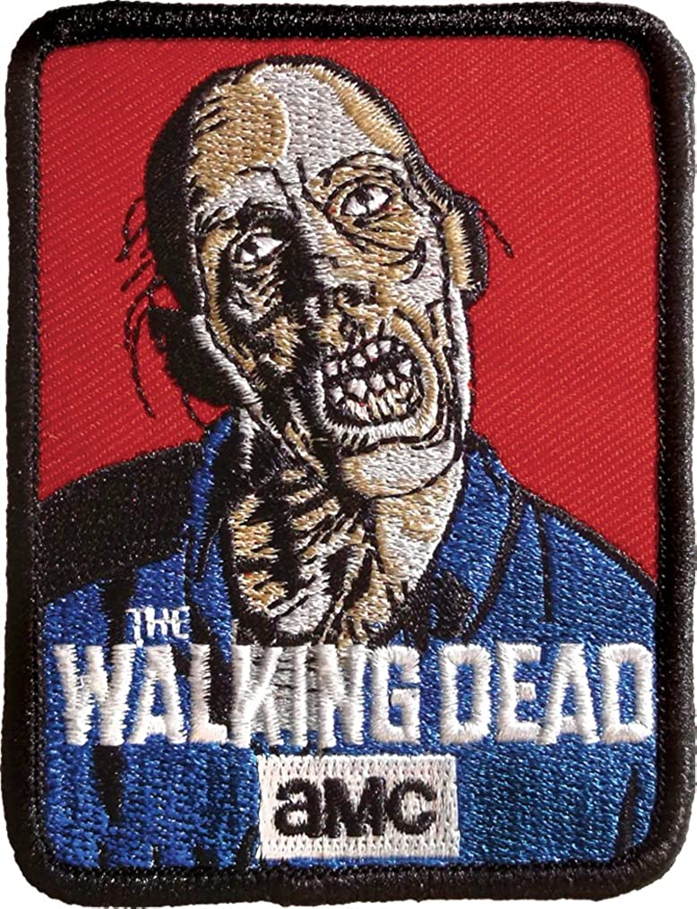Ata-Boy The Walking Dead 3 Full Color Iron-On Patch 61039WD