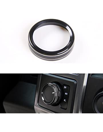 Four-Wheel Drive 4WD Mode Conversion Switch Ring Cover for Ford F150 2016 2017 Interior
