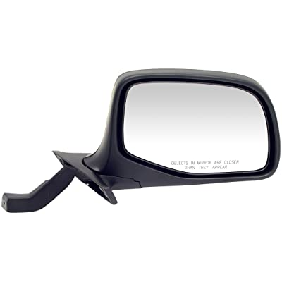 Dorman 955-228 Passenger Side Manual Door Mirror for Select Ford Models, Black and Chrome: Automotive