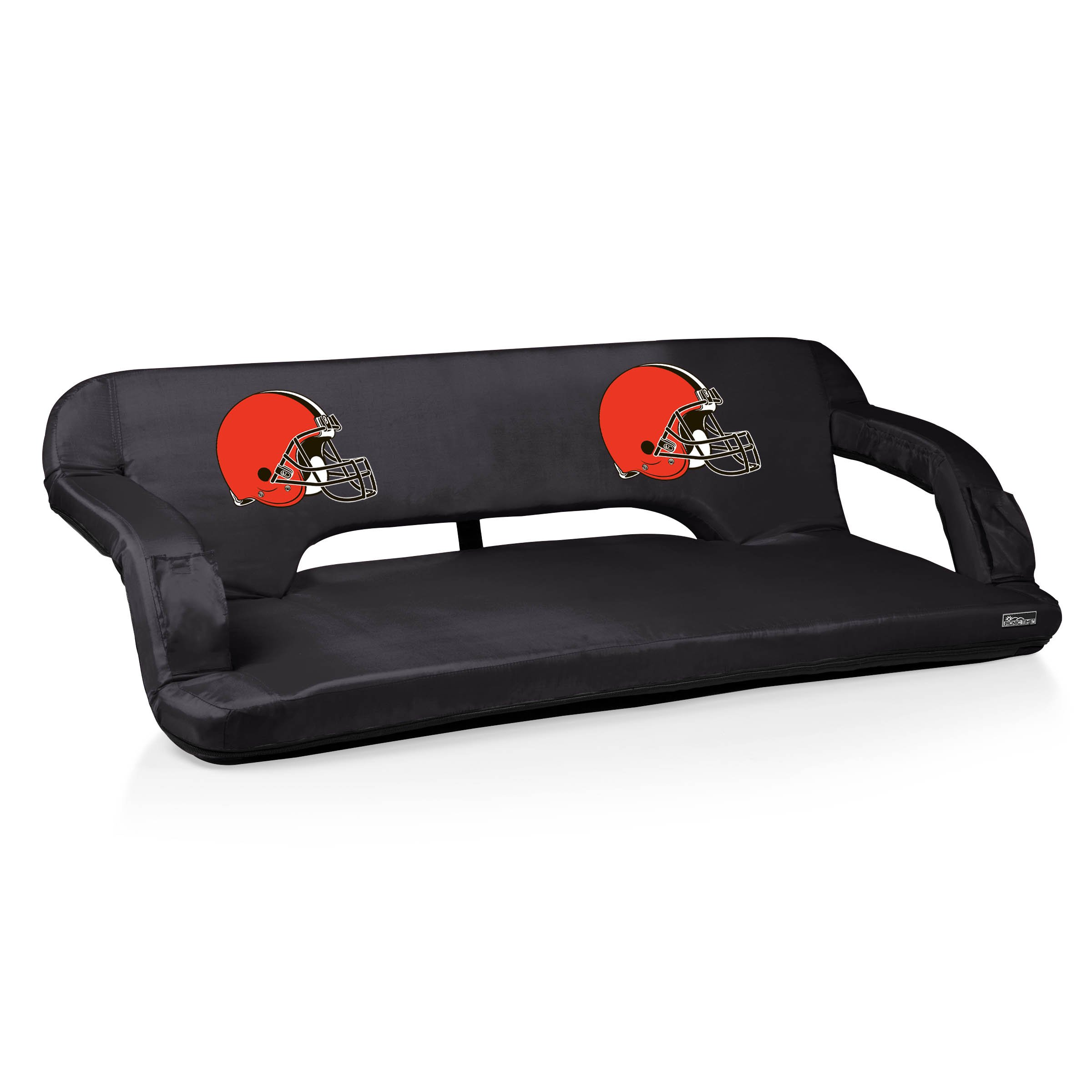 NFL Cleveland Browns Digital Print Reflex Travel Couch, One Size, Black