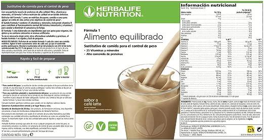 Batidos F1 (Fresa, 550): Amazon.es: Salud y cuidado personal
