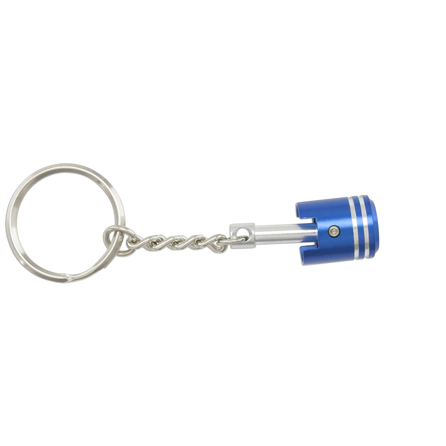 Amazon.com: Key Ring – Pistón – CNC Aluminio, Rojo: Automotive