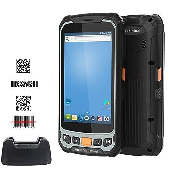 Amazon com: BQ-912 Android Data Terminal 4G WiFi Bluetooth GPS 8 0M