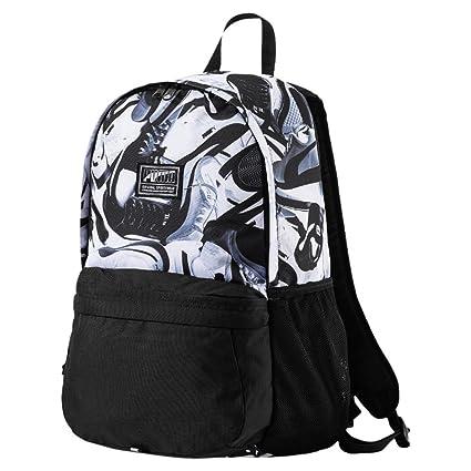 53382de0e974 Puma 22 Ltrs Black White Sneaker Laptop Backpack (7471902)  Amazon.in  Bags