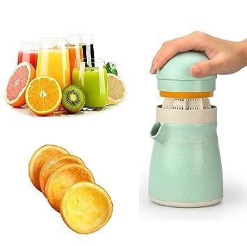 Manual exprimidor prensa para lima naranja cítricos – exprimidor de limón exprimidor de fruta con colador